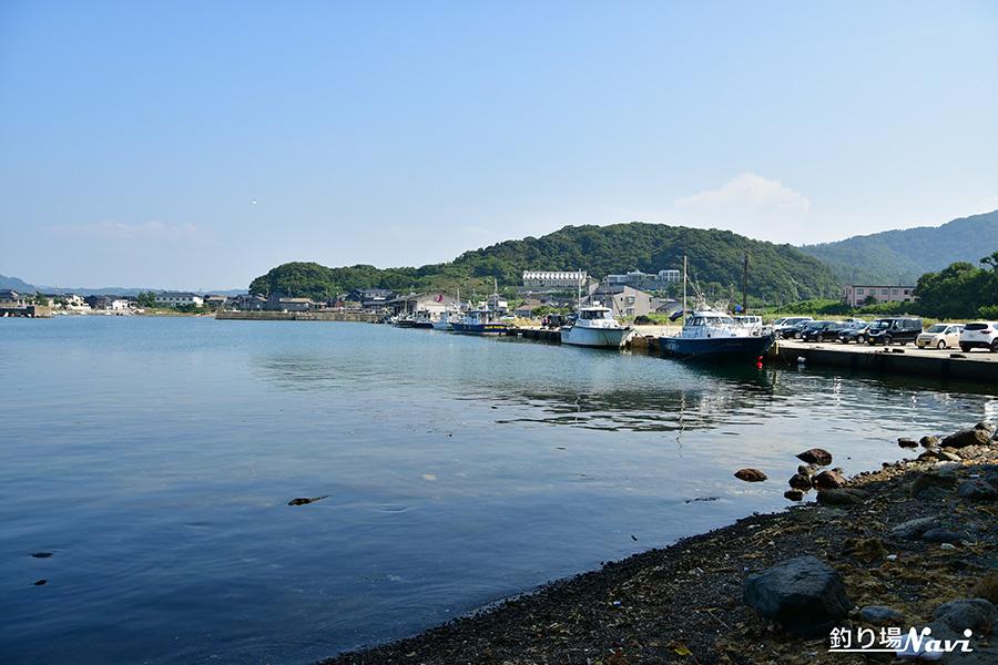 浅茂川港(あさもがわこう)